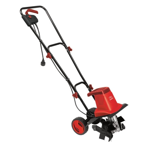Sun Joe TJ602E-RED Electric Garden Tiller/Cultivator, Red