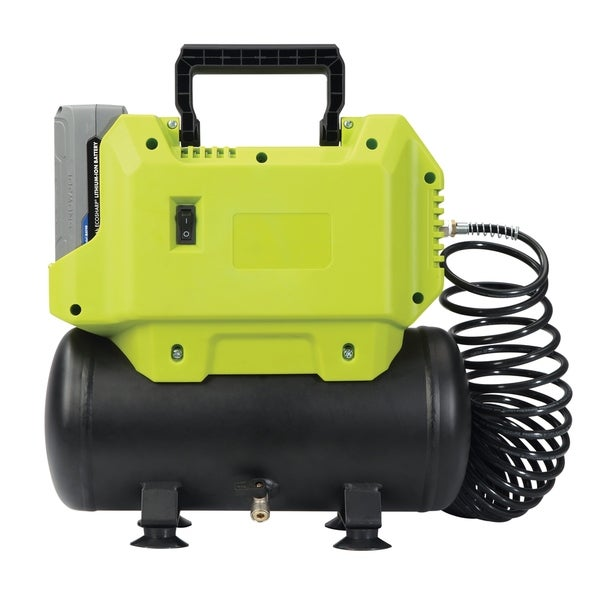 Sun Joe iONAIR-CT Cordless Hotdog Air Compressor | 40V | 1.6-Gallon | Core Tool (Battery + Charger NOT Included)