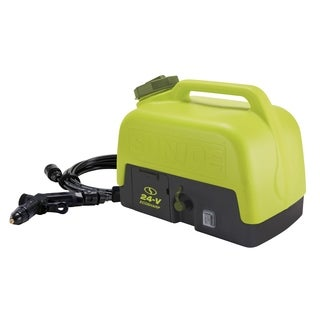 Sun Joe WA24C-LTE 24V 116-PSI-Max Multi-Purpose Clean-Anywhere Portable Spray Washer with 5-Gal Tank