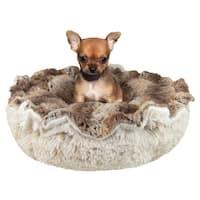 Bessie & Barnie Ultra Plush Simba/ Blondie Luxury Shag Deluxe Dog / Pet Cuddle Pod Bed