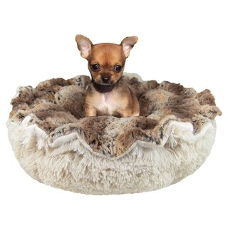 Bessie & Barnie Ultra Plush Simba/ Blondie Luxury Shag Deluxe Dog / Pet Cuddle Pod Bed