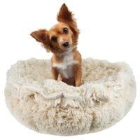 Bessie & Barnie Ultra Plush Blondie Luxury Shag Deluxe Dog / Pet Cuddle Pod Bed
