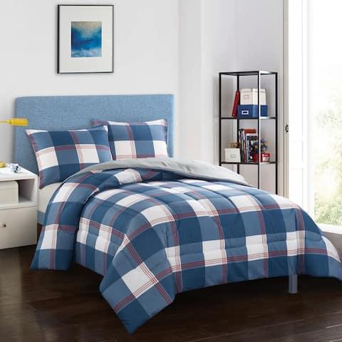 Hunter Navy Comforter Set