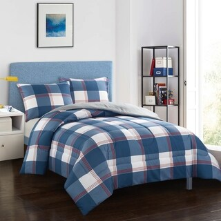 Hunter Navy Comforter Set