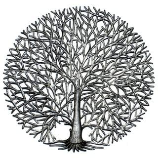 Handmade Fine Tree Of Life Metal art (Haiti)