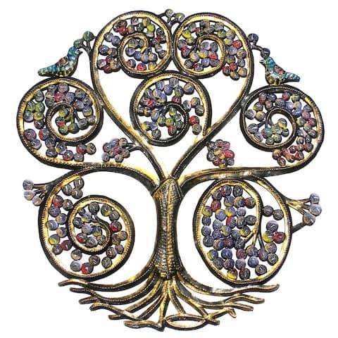 Handmade Spiral Tree of Life (Haiti)
