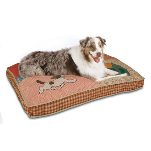 """Aspen Pet Quilted Novelty Gusseted Dog Bed - 30"""" x 40"""""""