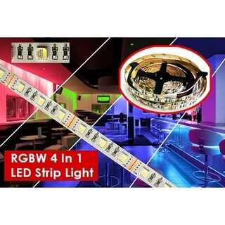 LED Strip Light RGBW 4 In 1, 16.4 Ft. Reel, 72 Watts