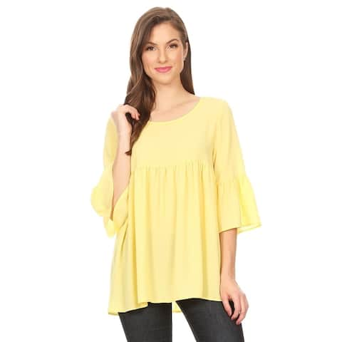 d22b1bf97db Yellow, Tunic Tops | Find Great Women's Clothing Deals Shopping at ...
