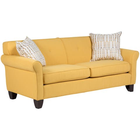 Buy Yellow Sofas Amp Couches Online At Overstock Com Our Best Living Room Furniture Deals
