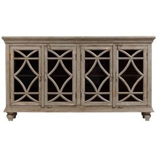 "Handmade Celine Gray Wash Mango Wood Sideboard - 72"" x 17"" x 40"" (India)"