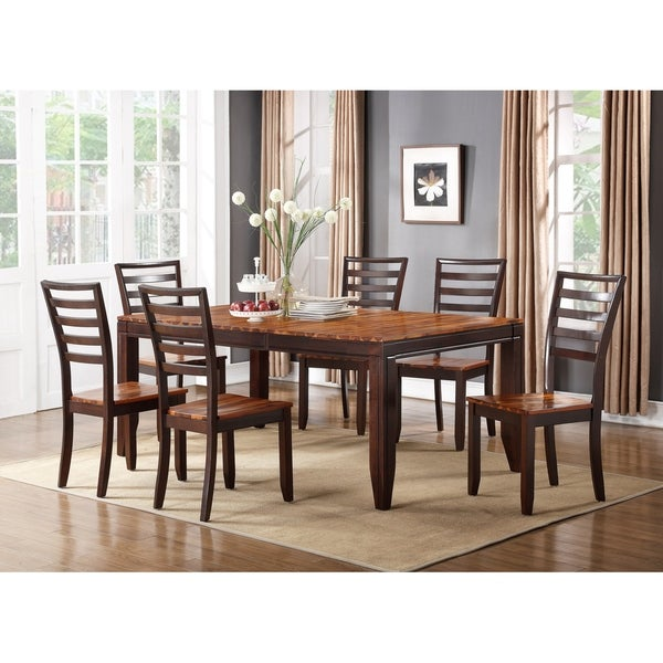 Shop Porter Designs Heritage Park Brown Wood Contemporary Dining Cool Heritage Dining Room Furniture Decoration
