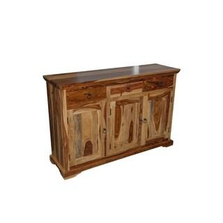 "Handmade Taos Sheesham Wood Sideboard - 35.25"" x 16"" x 53.25"" (India)"