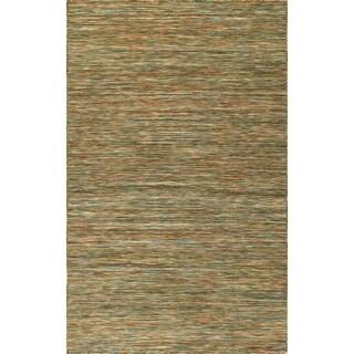 Addison Rugs Denver Multicolored Wool Handmade Casual Flatweave Area Rug - 8' x 10'