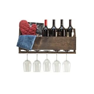 Handmade Luxe Wine Rack