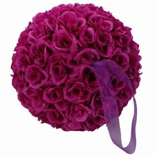 Purple Flower Ball Wedding Decoration 9.84 inch