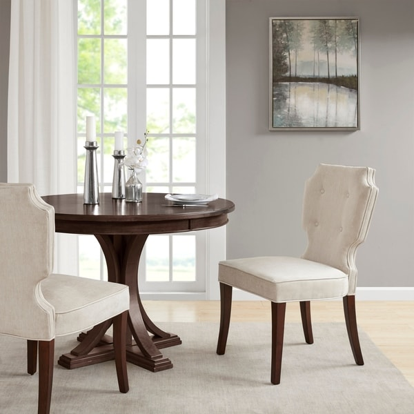 Shop Madison Park Francis Dining Chair (Set of 2) 2-Color ...