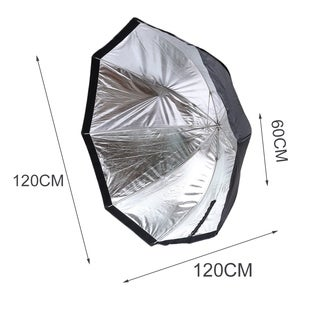120CM Portable Folding Octagonal Umbrella Softbox For Photography