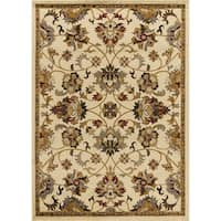 Mod-Arte Crown Persian-inspired Medaliion Classic Border Area Rug