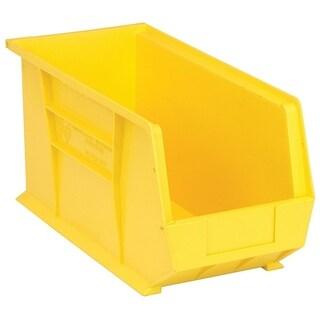 Quantum QUS265 Ultra Yellow Stack and Hang Bin - 6 Pack