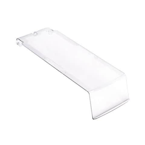 Quantum Ultra Series Clear Lids For Use with Qus224 Ultra Stack and Hang Bin - 12 Pack