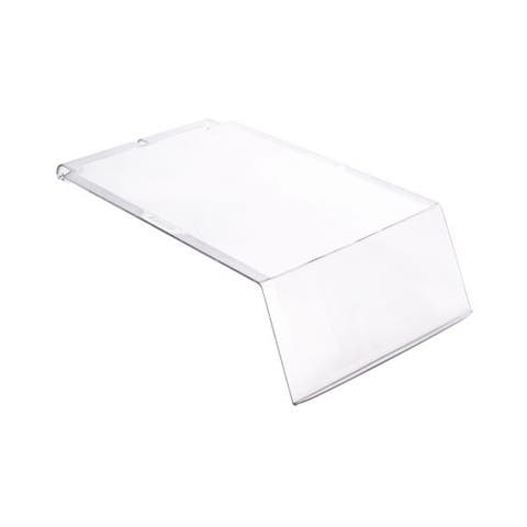 Quantum Ultra Series Clear Lids For Use with Qus240 Ultra Stack and Hang Bin - 12 Pack