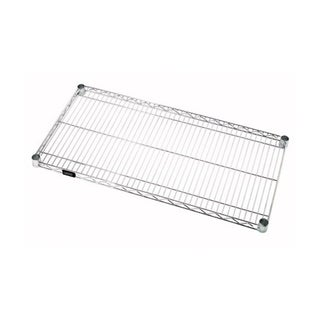 "Quantum Storage Systems Stainless Steel Wire Shelf - 24""W x 24""L"