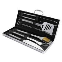 Stainless Steel Barbecue Grilling Accessories Aluminum Storage Case Home-Complete