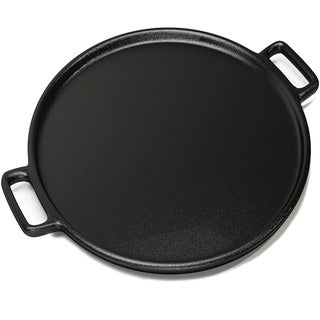 Link to Cast Iron Pizza Pan-14 Inches Skillet for Cooking, Baking, Grilling-Durable Home-Complete Similar Items in Cookware