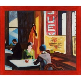 Edward Hopper 'Chop Suey' Hand Painted Oil Reproduction