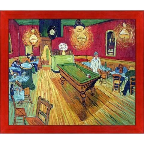 Vincent Van Gogh 'The Night Café' Hand Painted Oil Reproduction