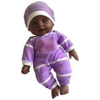 "11"" soft body vinyl doll African American"