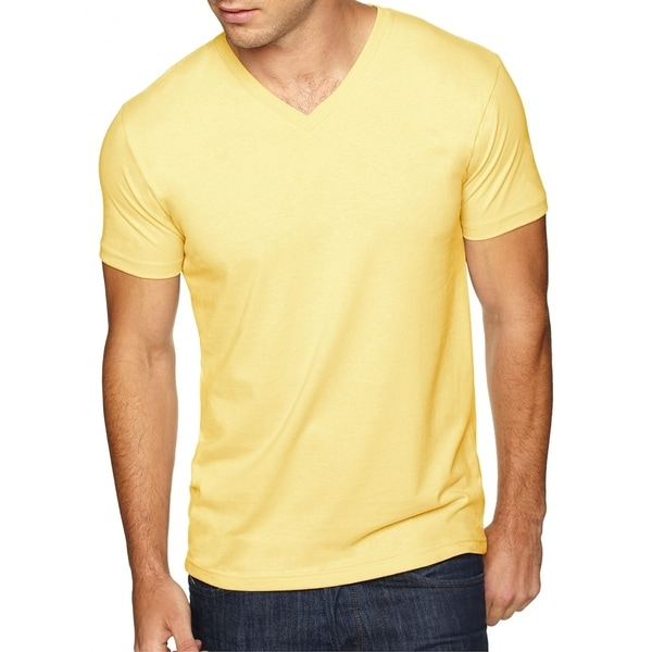Next Level Mens Premium Fitted Sueded V-Neck Tee (6440) by  Best Design
