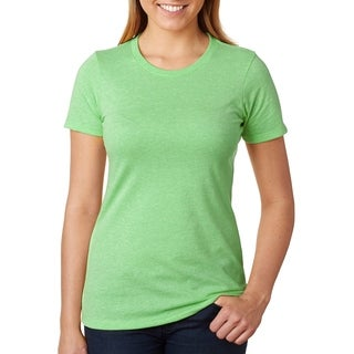 Next Level womens CVC Crew Tee (6610)