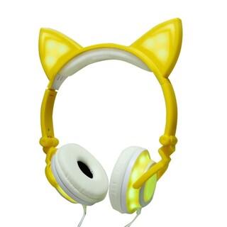 Jamsonic Light Up LED Cat Ear Headphones Second Edition