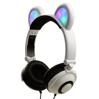 Jamsonic Light Up LED Panda Ear Headphones First Edition