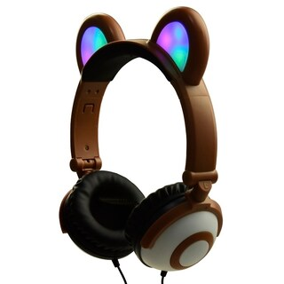 Jamsonic Light Up LED Panda Ear Headphones First Edition