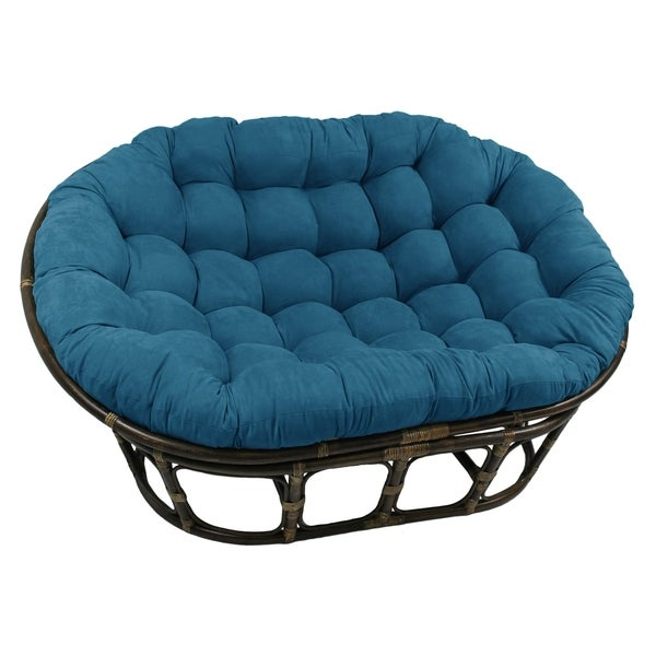 Blazing Needles 65-inch Microsuede Double Papasan Cushion. Opens flyout.