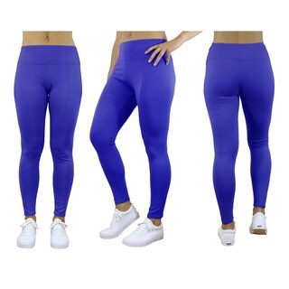 Galaxy By Harvic Women's Stretch Leggings - Yoga Running Jogging Sports