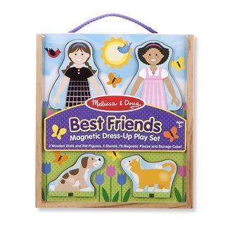 Best Friends Magnetic Dress Up Play Set - N/A