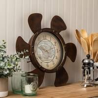 """Maritime 17.75"""" Diameter Wall Clock"""