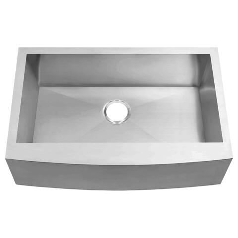 Kitchen Sink Farmhouse Stainless Steel 36 x 21 x 10 LPF3 LessCare
