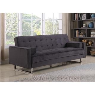 Best Quality Furniture Velvet Tufted Click Clack Sofa Bed