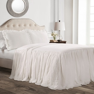 Link to Lush Decor Ruffle Skirt Bedspread Set Similar Items in Quilts & Coverlets