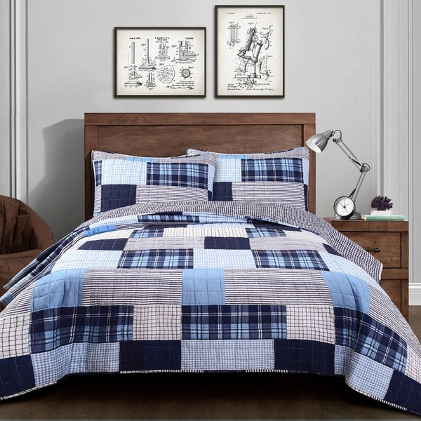 Lush Decor Greenville Quilt Set