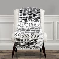 Lush Decor Hygge Geo Throw
