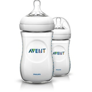 Philips AVENT SCF693/37 Natural Feeding 9 oz Bottle 1M+, 3 Count