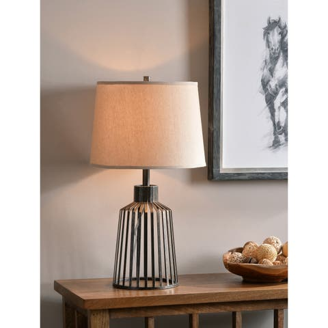 Henley 25-inch Vintage Metal Accent Lamp
