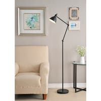 Eli 62-inch Oil Rubbed Bronze Task Floor Lamp