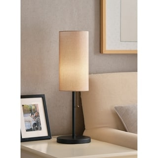Link to Freddie 26-inch Black Table Lamp Similar Items in Table Lamps